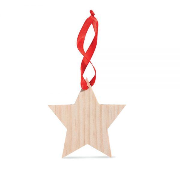 дървена коледна играчка